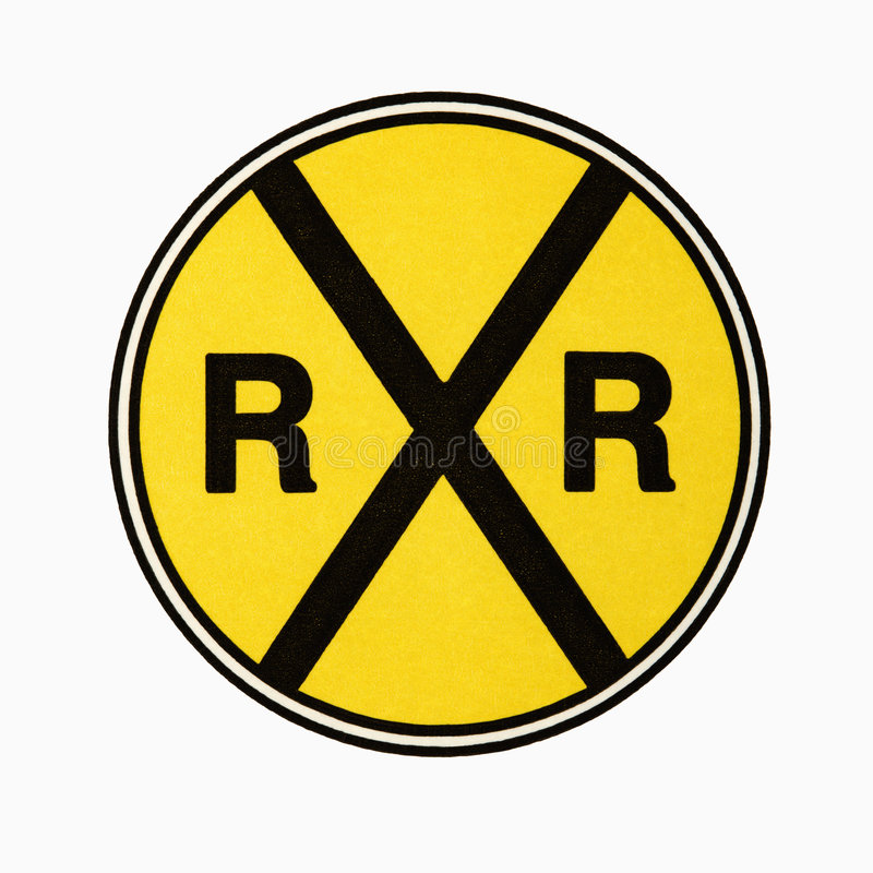 Free Railroad Crossing Sign. Royalty Free Stock Image - 3532476