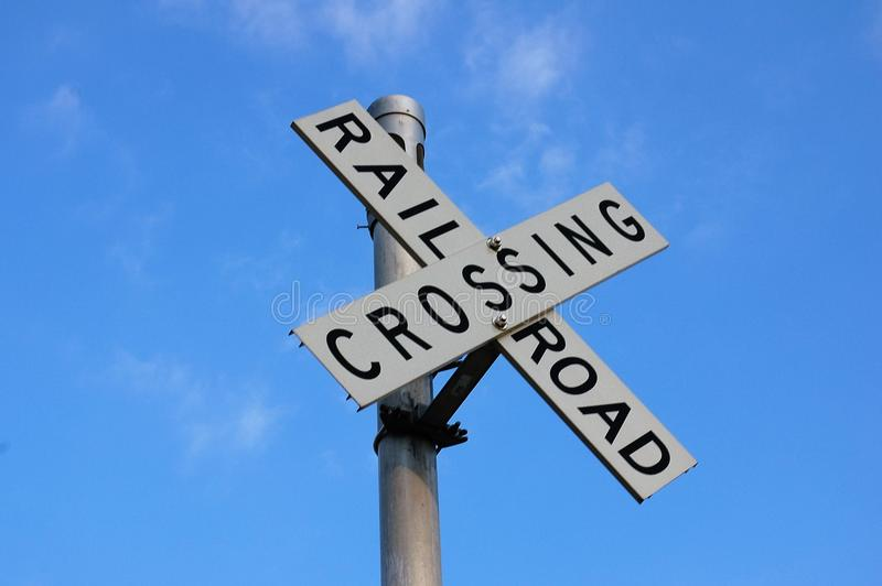 Download Railroad crossing stock photo. Image of travelling, sign - 80292148