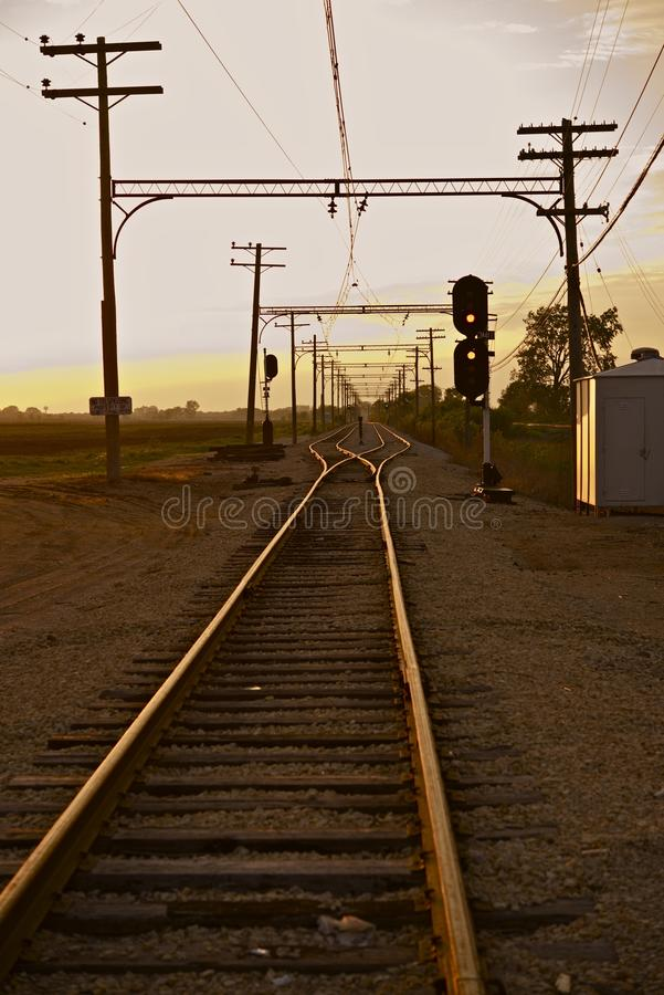 Download Railroad In Illinois Stock Photography - Image: 35501152