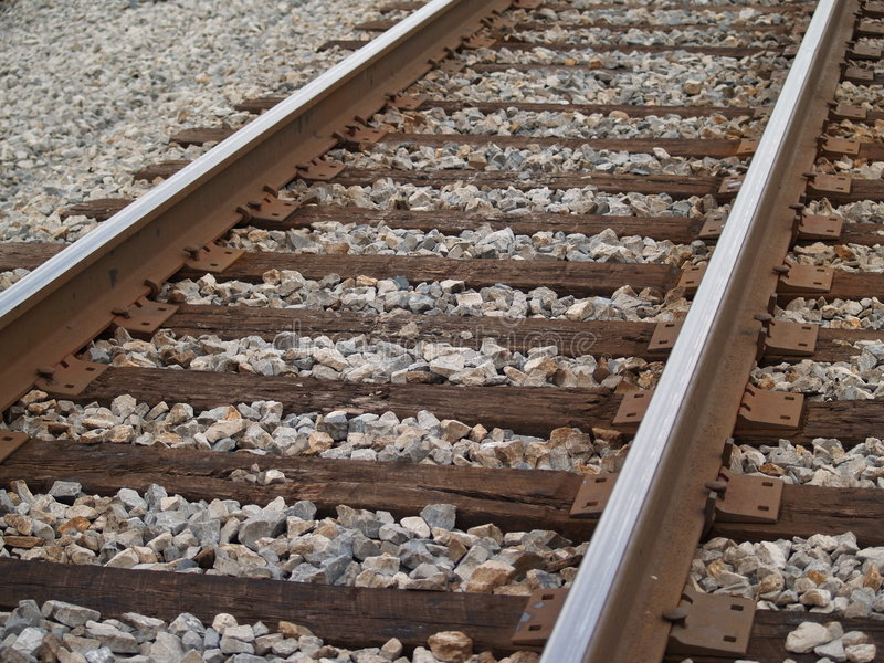 Railroad Main Line royalty free stock image