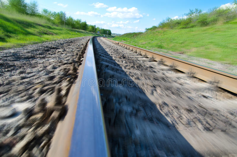 Download Railroad In Motion Royalty Free Stock Images - Image: 22488189