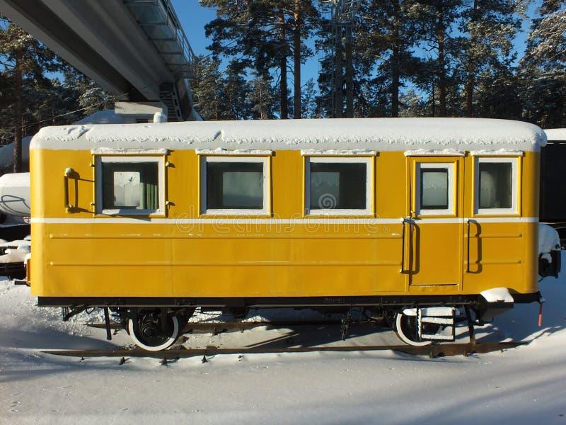 Railroad passenger car stock photography
