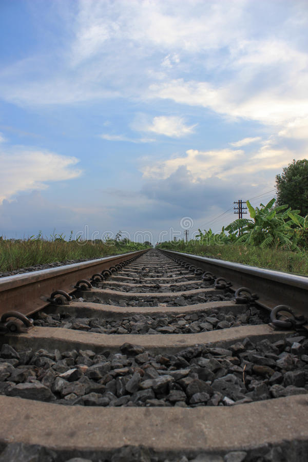 Download Railroad perspective stock image. Image of circumstances - 25736765