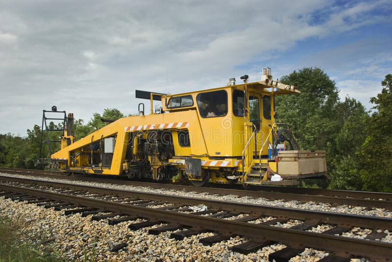 Download Railroad Production Switch Tamper Stock Photo - Image of heavy, production: 26378656