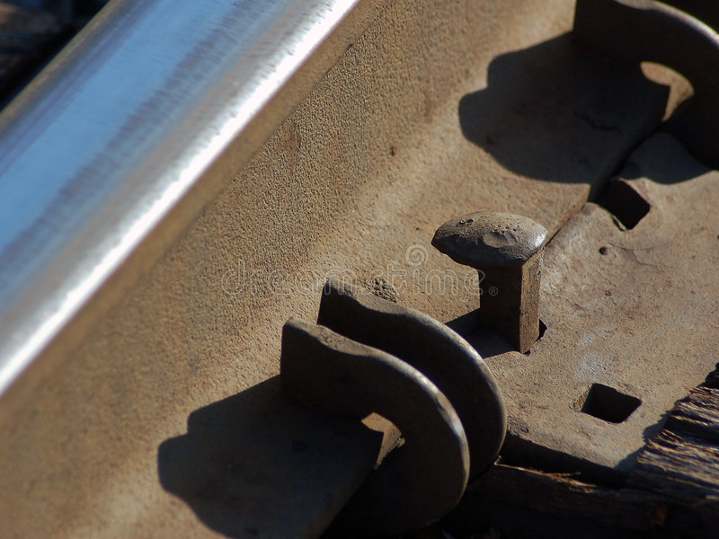 Download Railroad Spike Royalty Free Stock Photography - Image: 1423007