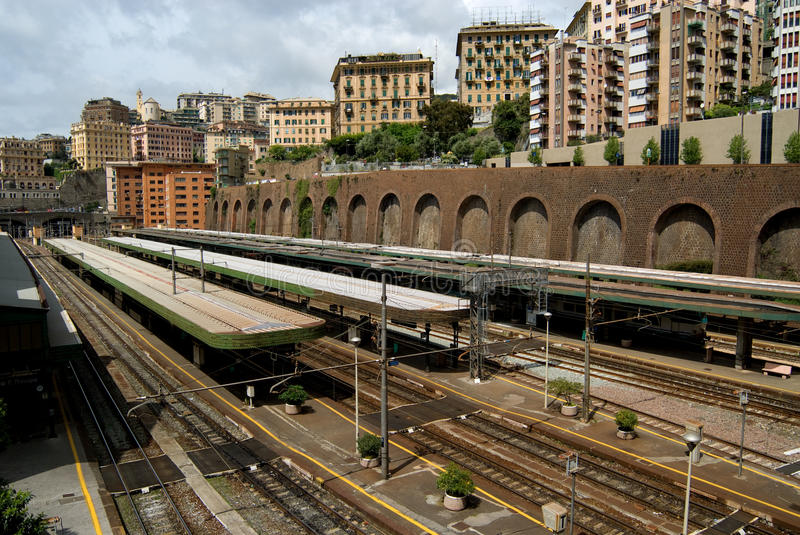 Download Railroad station stock photo. Image of italy, europe - 24670320
