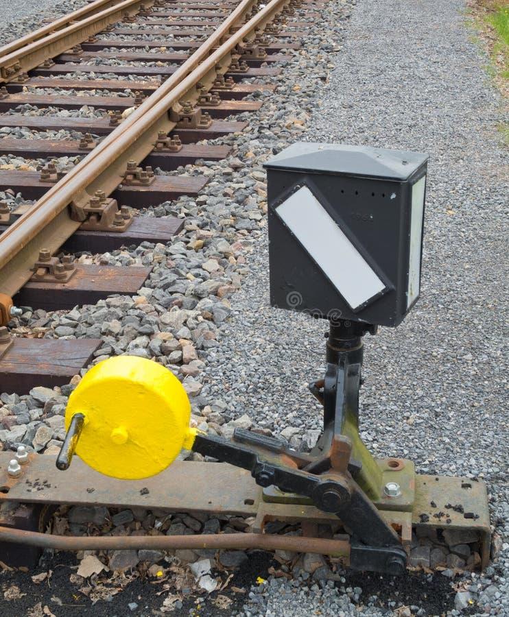 Download Railroad switch stock photo. Image of rail, indicator - 25065362