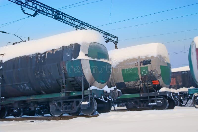 Railroad Tank Stock Images