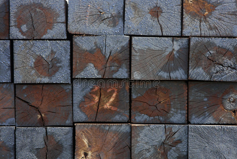 Railroad Ties royalty free stock photography