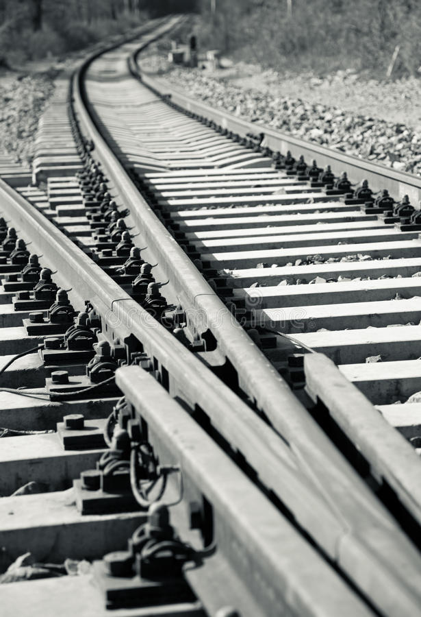 Download Railroad track stock image. Image of route, connection - 16986427