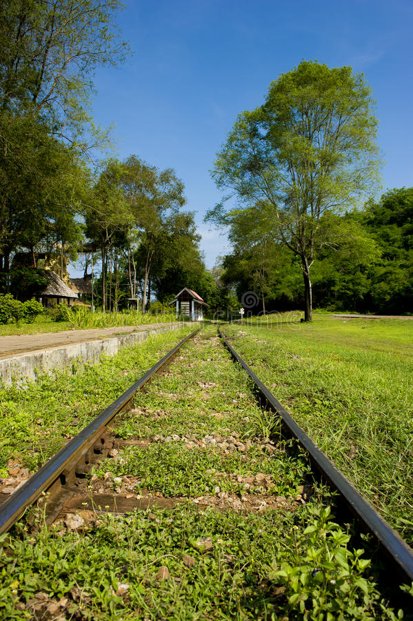 Download Railroad Track stock photo. Image of rail, thailand, outdoors - 20851402