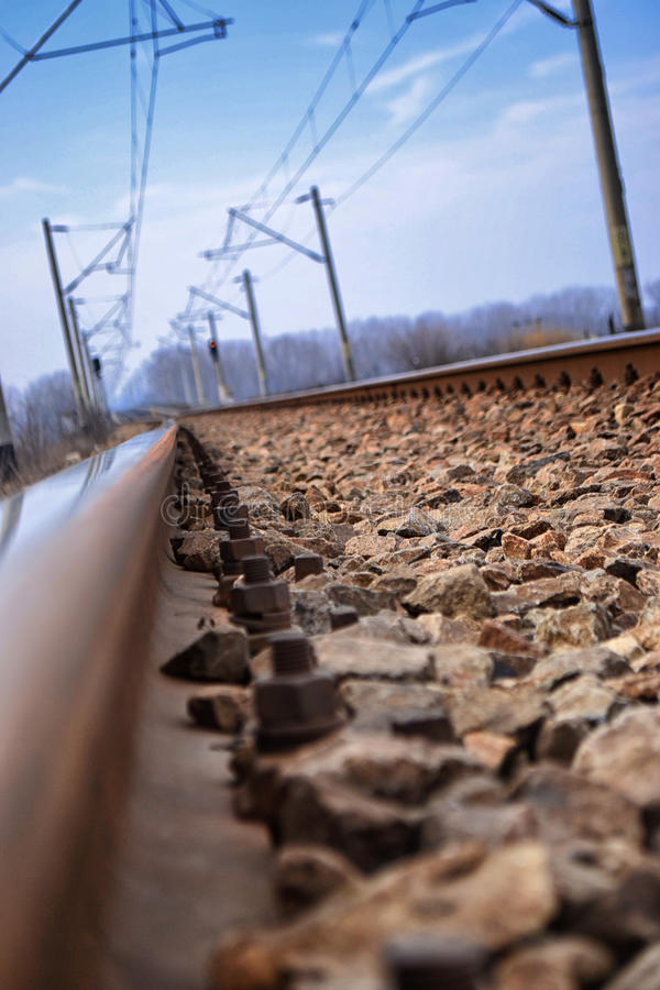 Download Railroad tracks stock photo. Image of railway, destiny - 26406894