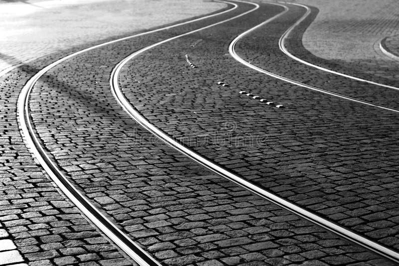 Rails. As an abstract composistion stock photos