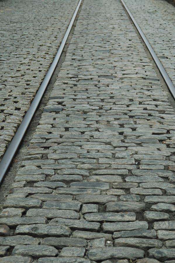 Download Rails & cobblestones stock image. Image of road, river - 186491