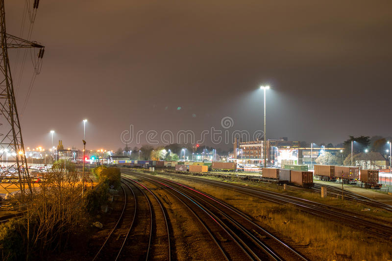 Railtrucks stock image