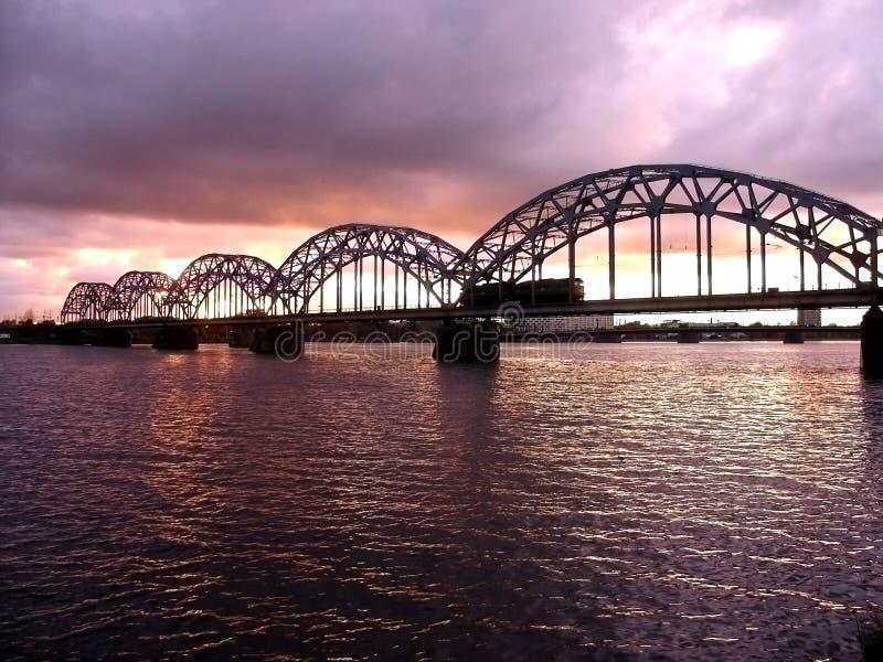 railway моста стоковые фото