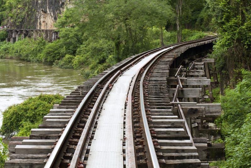 Railway смерти стоковое фото