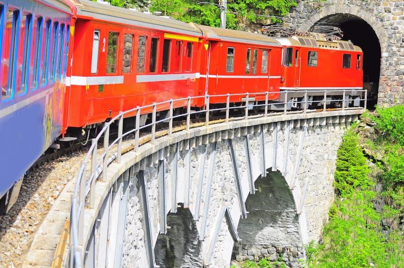 Railway узкого датчика. стоковое фото