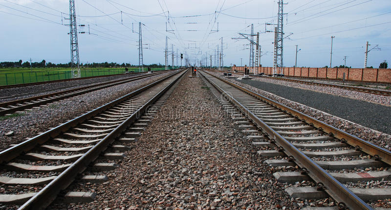 Download Railway stock photo. Image of developed, extension, very - 13401430