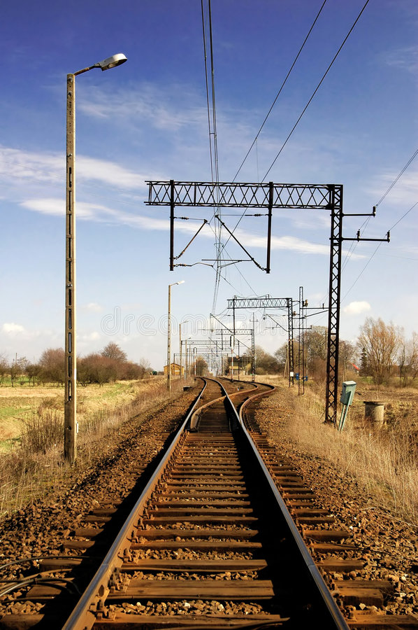 Download Railway stock photo. Image of post, consignment, electricity - 2110894