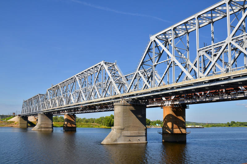 Download Railway bridge stock image. Image of travel, river, traffic - 20963215