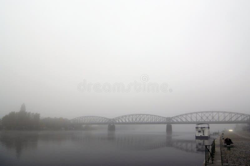 Download Railway bridge stock photo. Image of river, moody, bleak - 24848990