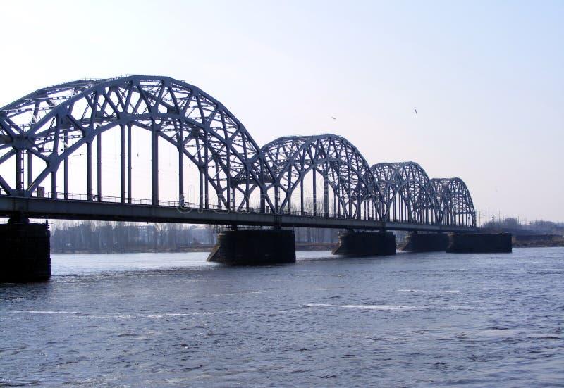 Download Railway bridge stock image. Image of riga, bridgework - 25530633