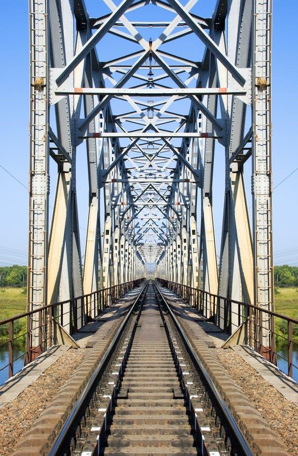 The railway bridge stock photos