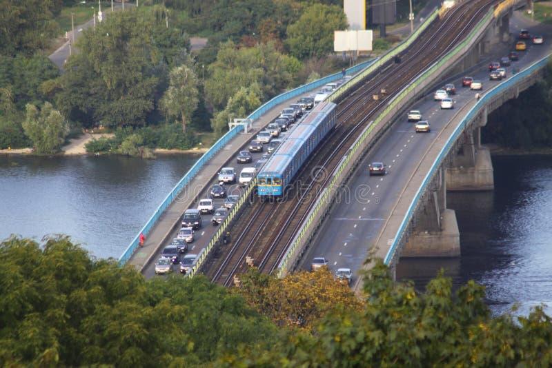 Download Railway Bridge In Kyiv, Ukraine Stock Photo - Image: 16320144
