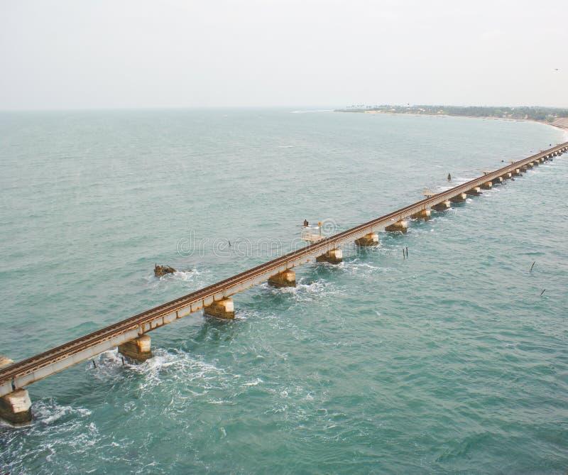 Download A Railway Bridge Link On Sea Stock Image - Image of south, bridge: 12636461