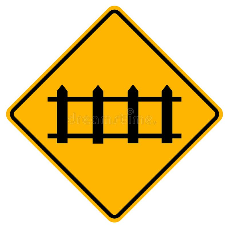 Free Railway Crossing Ahead That Is Not Protected By Automatic Gates Traffic Road Sign,Vector Illustration, Isolate On White Background Royalty Free Stock Image - 165032406