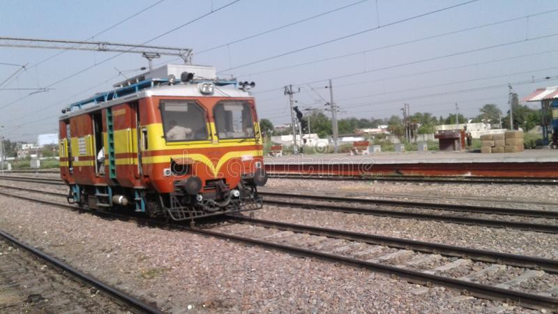 Railway engine royalty free stock photos