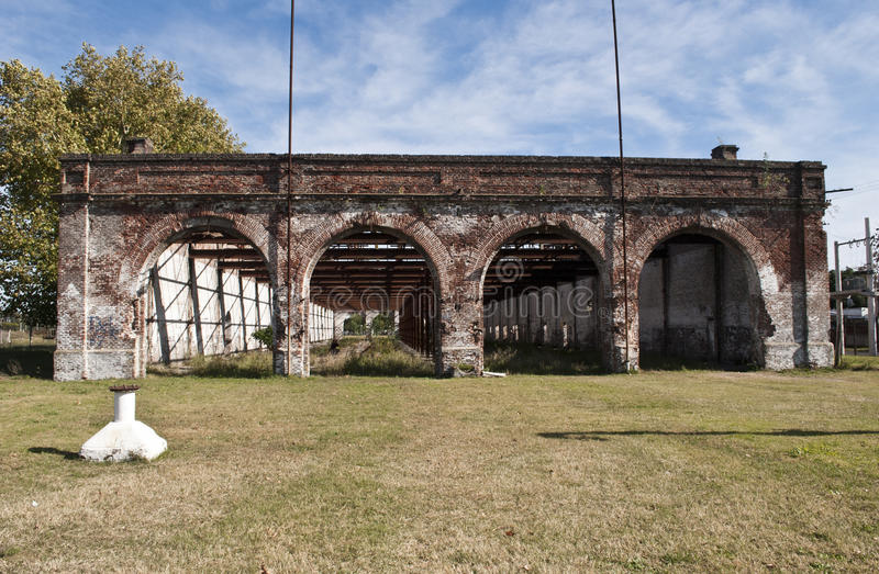 Download Railway factories stock photo. Image of argentinean, place - 24694560