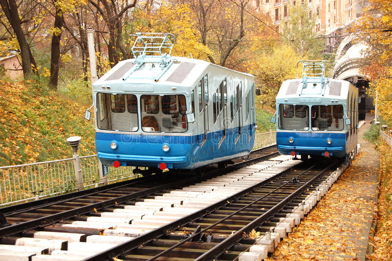 Download Railway funicular stock image. Image of road, tourist - 3024413