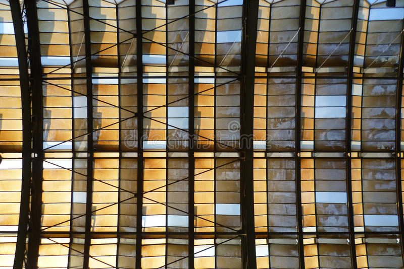 Download Railway hall stock image. Image of empty, metal, blue - 27349607