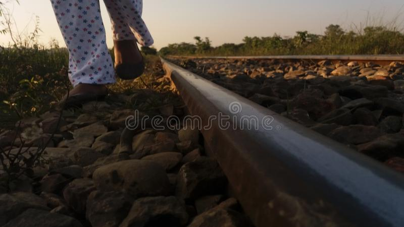Railway pictures stock photography