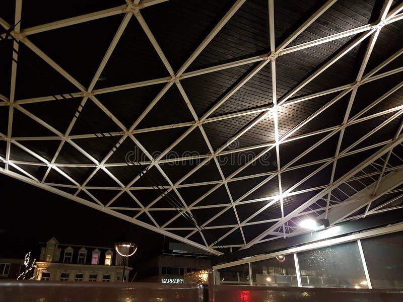 Railway Roof station tilburg stock photos