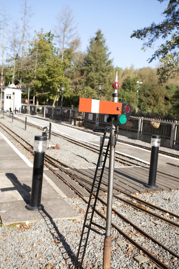 Download Railway signal stock image. Image of track, stop, raolway - 11318145