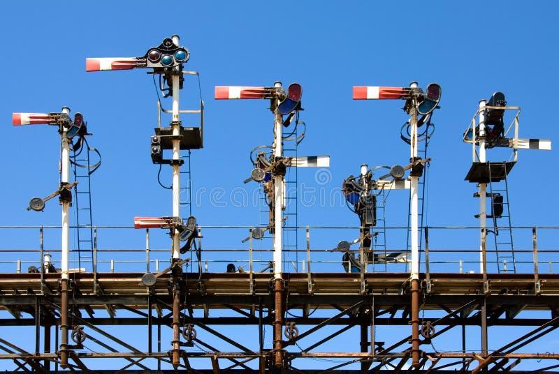 Download Railway Signals stock image. Image of signals, railway - 7006947