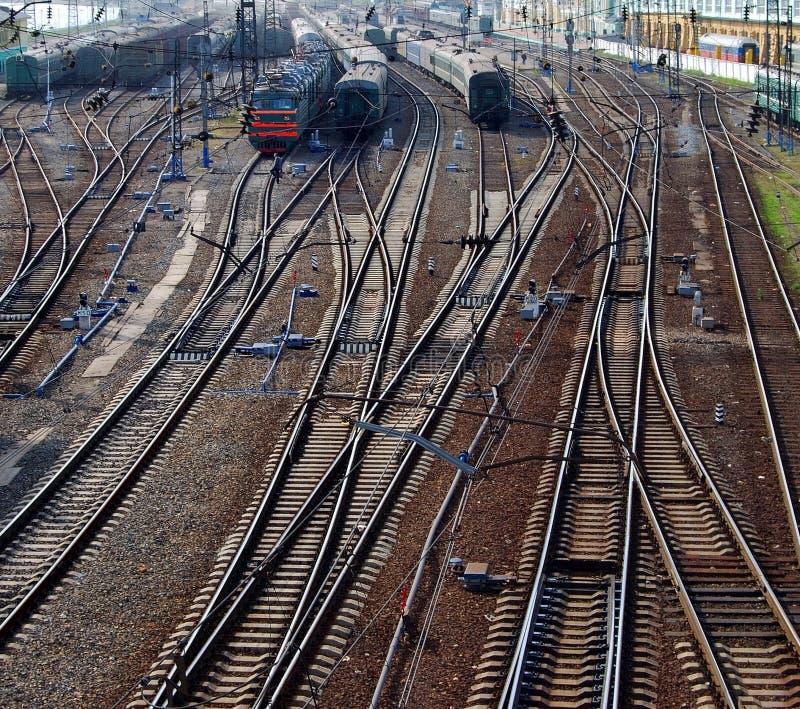 Download Railway station stock photo. Image of line, machine, landmark - 13155414