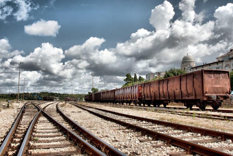 Download Railway Station stock image. Image of change, railway - 20829279