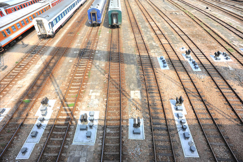 Download Railway station stock photo. Image of electric, joint - 21857298