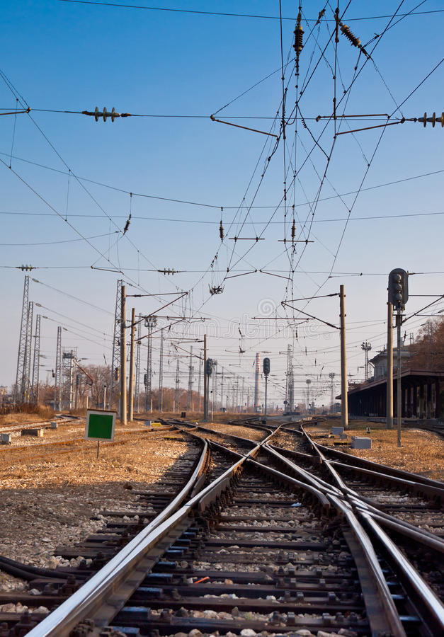 Free Railway Station Royalty Free Stock Photography - 22219077