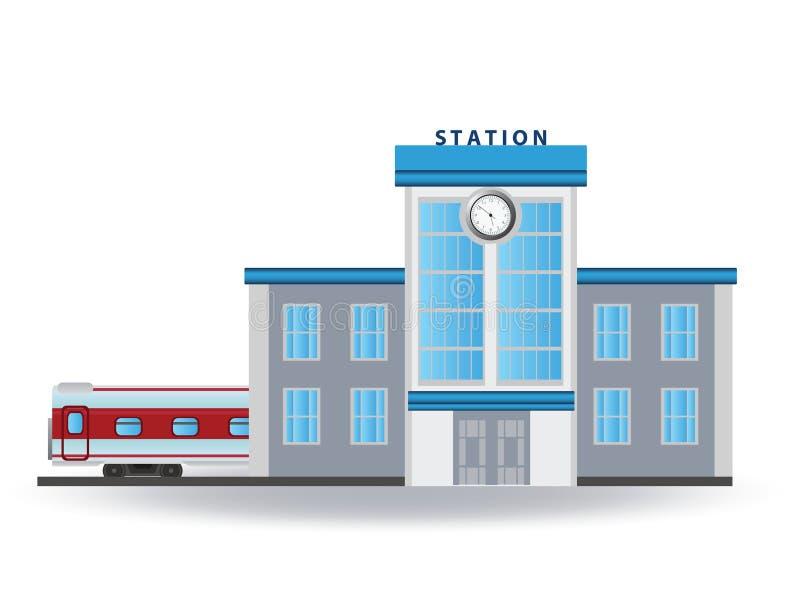 Download Railway station stock vector. Illustration of station - 28706682