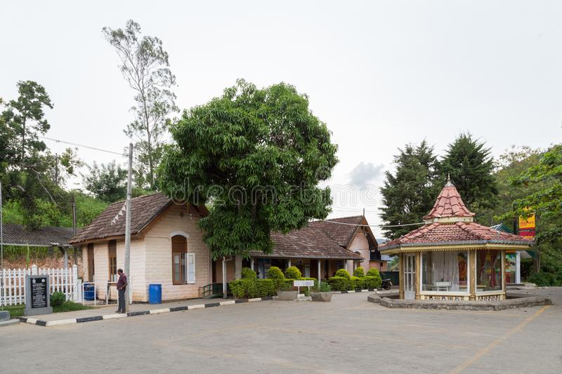 Railway Station in Ella, Sri Lanka stock image