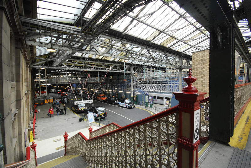 Download Railway Station Interior And Car Road Editorial Stock Image - Image: 29560019