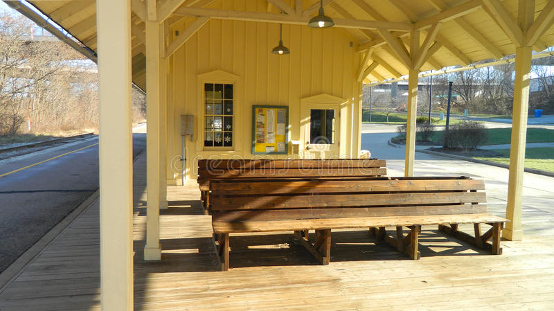 Download Railway Station Stock Photo - Image: 83703959