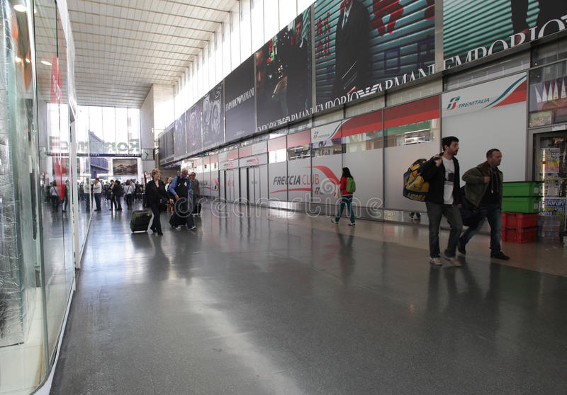Download Railway Station In Rome, Italy Editorial Stock Image - Image: 27241249