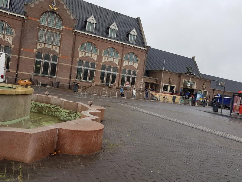 Railway station Roosendaal. Station Roosendaal in Netherlands royalty free stock photo