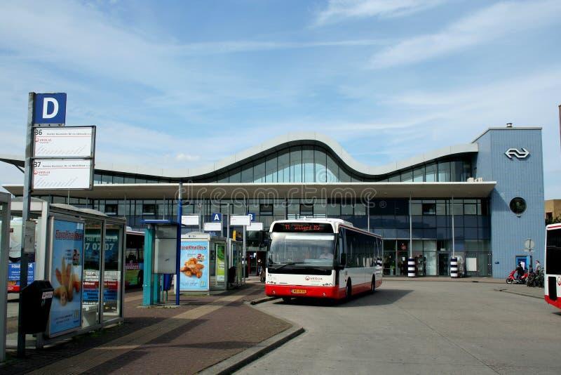 Railway station in Sittard stock photos